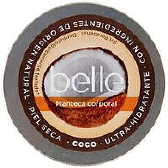 Belle Manteca corporal ultrahidratante de coco Tarro 200 ml