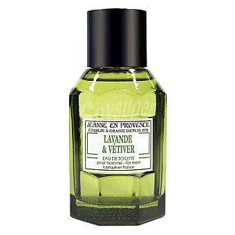 Jeanne en Provence Perfume masculino Lavanda & Vetiter 100 ml