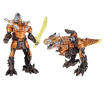 Transformers Figura transformable, articulada, con luces y sonidos Super Grimlock 1 unidad