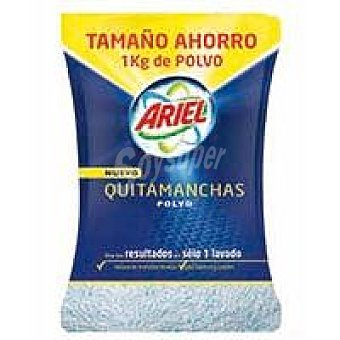 Ariel Quitamanchas en polvo Caja 1 kg + Fairy