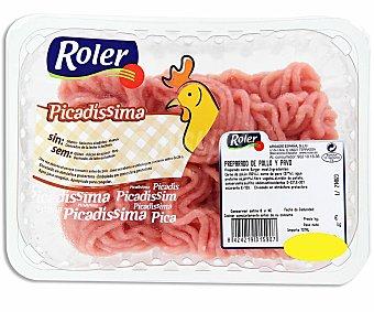 Roler Preparado de carne picado pollo Bandeja de 350 Gramos