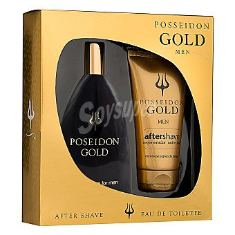 Posseidon Estuche colonia Gold 150 ml. + aftershave 50 ml. 1 ud