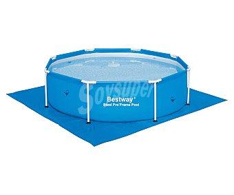 Bestway Tapiz de 274x274 centímetros ideal para porteger de posibles pinchazos el liner de las piscinas redondas sobre el suelo 1 unidad