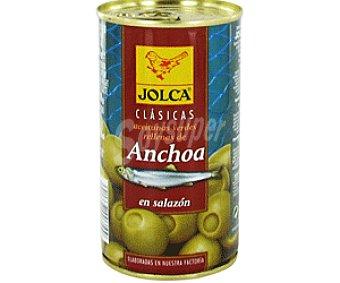 Jolca Aceitunas rellenas de anchoa Lata 150 g