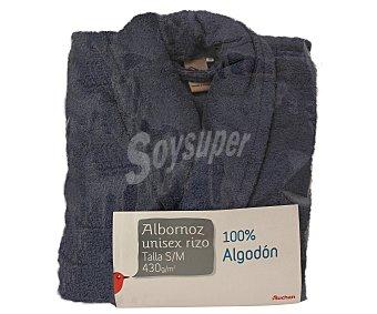 Auchan Albornoz de rizo americano color rosa azul talla mediana 1 Unidad