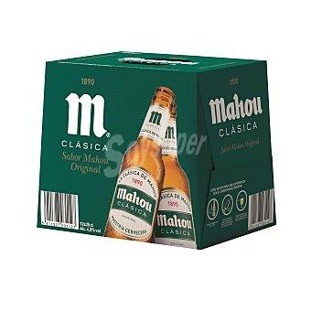 Mahou Cerveza clásica Pack 12x25 cl