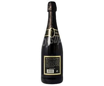 EL GAITERO Etiqueta negra sidra achampanada  botella 75 cl