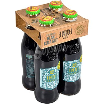 Indico Bebida mixer Black Cola 100% ecológica pack 4 botellas 20 cl pack 4 botellas 20 cl