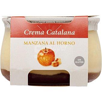El Pastoret Crema catalana con manzana Envase 150 g