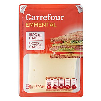 Carrefour Queso Emmental 200 g