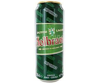 Cerveza holbrand Lata de 50 cl