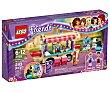 Juego de construcciones con 243 piezas Parque de atracciones, Furgoneta de perritos calientes, Friends 41129 1 unidad LEGO
