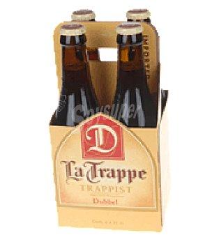 La Trappe Cerveza Pack de 4x33 cl