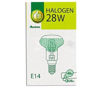 Productos Económicos Alcampo Eco Halógena Reflectora 28W R50 1 Unidad