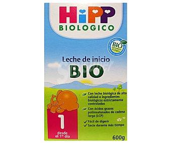 HiPP Biológico Leche de Inicio Ecológica 600 Gramos