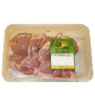Avicosan Contramuslo de pollo sin piel Bandeja de 350.0 g.