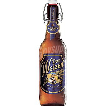 SCHWABEN BRÄU Das Weizen Cerveza turbia de trigo botella 50 cl Botella 50 cl