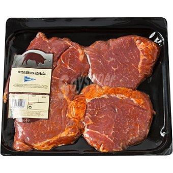 Hipercor Presas adobadas de cerdo ibérico peso aproximado Bandeja 400 g