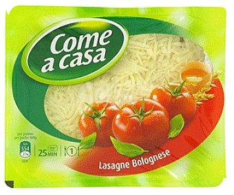 Come a Casa Lasaña boloñesa 400 gramos