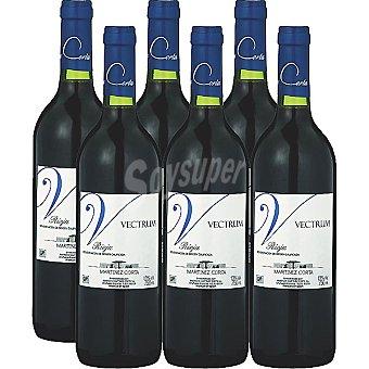 VECTRUM Vino tinto joven D.O. Rioja caja 6 botellas 75 cl