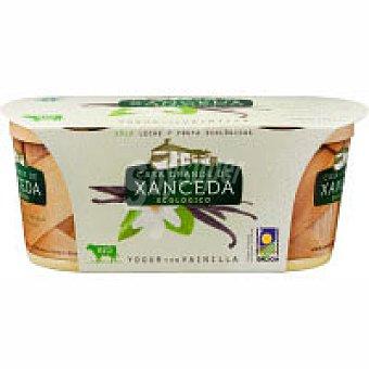 Xanceda Yogur de vainilla ecológico Tarro 125 g