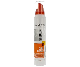 Studio Line L'Oréal Paris Espuma Curl Power rizadora anti-encrespamiento 24h Spray 200 ml