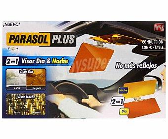 BEST OF TV Parasol plus de coche para día y noche, que no ayuda a realizar una conducción confortable sin reflejos y no necesitamos herramientas para su instalación 1 unidad