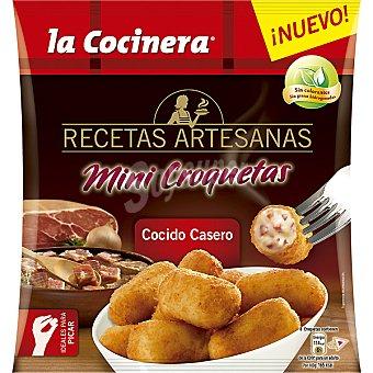 La Cocinera Mini croquetas de cocido casero Recetas artesanas Bolsa 450 g