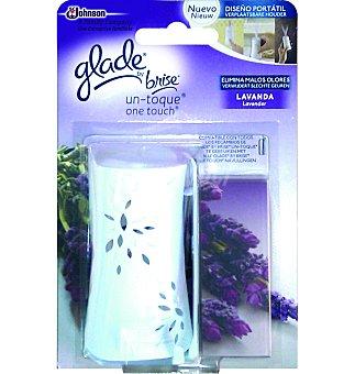 Glade Brise Ambientador un-toque lavanda Aparato + 1 recambio