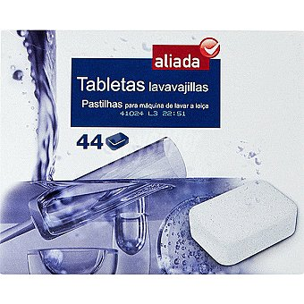 Detergente lavavajillas Caja 44 pastillas