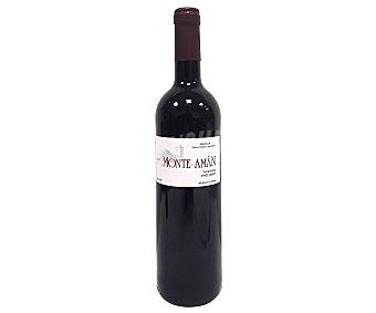 MONTE AMÁN Vino tinto tempranillo con denominación de origen Arlanza (burgos) Botella de 75 cl