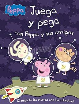 PEPPA PIG Libro Pega y Juega con Peppa y sus amigos 1 ud