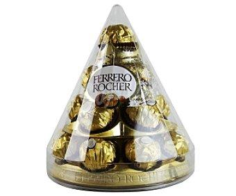 FERRERO ROCHER Bombones crujientes de chocolate y avellanas 212,5 gramos