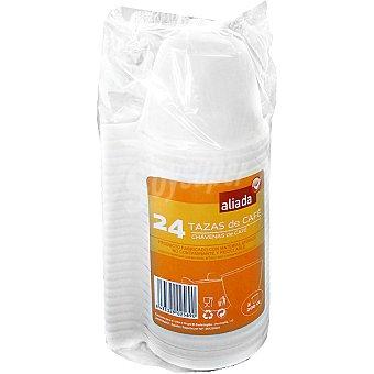 Aliada Tazas de café rígida 20 cl paquete 24 unidades 20 cl