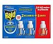 Recambio eléctrico antimosquitos 2 x 27 ml Raid