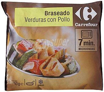 Carrefour Braseado Verdura con pollo 450 g