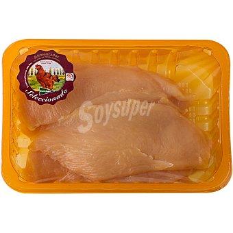 El Corte Inglés Filetes pechuga pollo corral 2-3 unidades peso aproximado bandeja 500 g 2-3 unidades