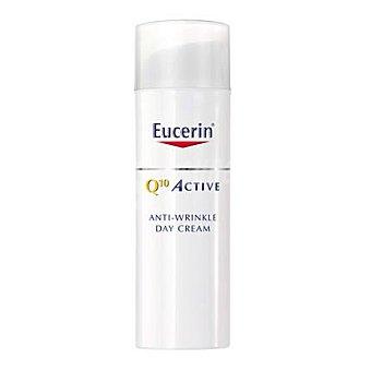 EUCERIN Crema antiarrugas día pieles sensibles fluido Q10 50 Mililitros