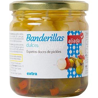 Aliada Banderillas dulces en vinagre Frasco 160 g neto escurrido