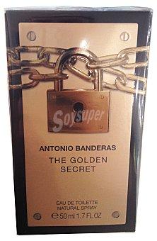 ANTONIO BANDERAS Eau toilette hombre golden secret vaporizador  Botella de 200 cc
