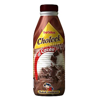 Choleck Batido de chocolate Botella de 1 l