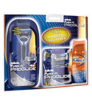 Gillette Pack ahorro proglide (maquinilla+cargador+minigel) 1 ud