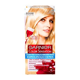 Color Sensation Garnier Tinte rubio extra claro nº 110 coloración permanente Caja 1 unidad
