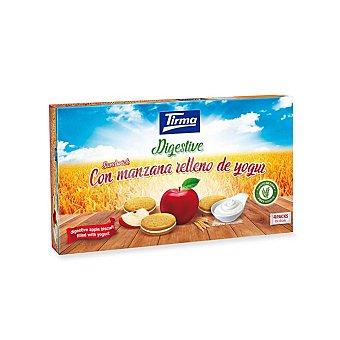 Tirma Galleta digestive con relleno de manzana y yogur 4 packs de 4 galletas individuales Estuche 180 g