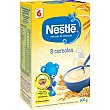 Papilla instantánea 8 cereales con bifidus desde 6 meses Envase 600 g Nestlé Papillas