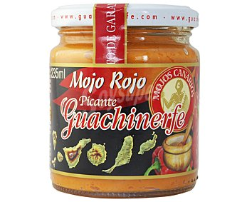GUACHINERFE mojo rojo picante  frasco 250 g
