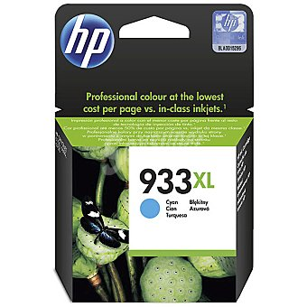 HP Nº 933 XL cartucho color cian