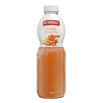 Zumosol Néctar de naranja y zanahoria Botella 1 l