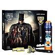 Pack afeitado Batman (maquinilla+ 4 cargadores + gel de afeitar Fusion proglide 170 ml.) 1 ud Gillette Fusion Proglide