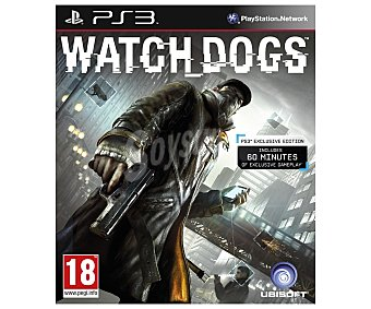 Ubisoft Watch Dogs PS3 1 unidad